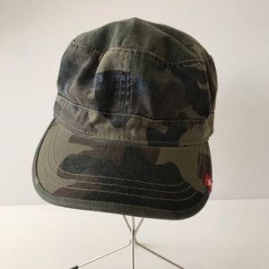 U.S. Polo Assn. Heritage Military Army Cap Hat M/L